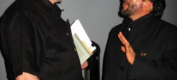 Juan Domingo Argüelles y Alejandro Zenker