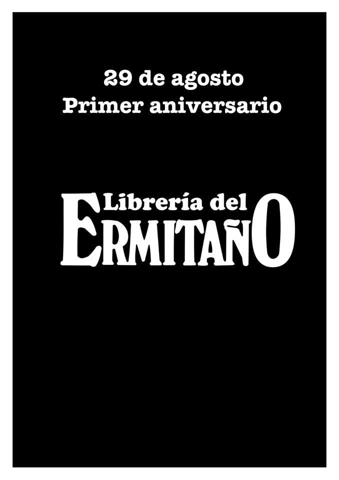 Primer Aniversario de la Librería del Ermitaño