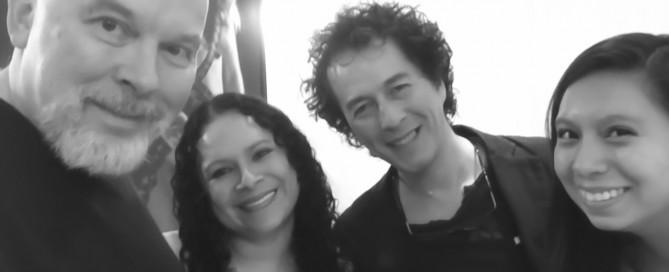 AZ con Raúl, Noemí y Pilar 8 de octubre 2015