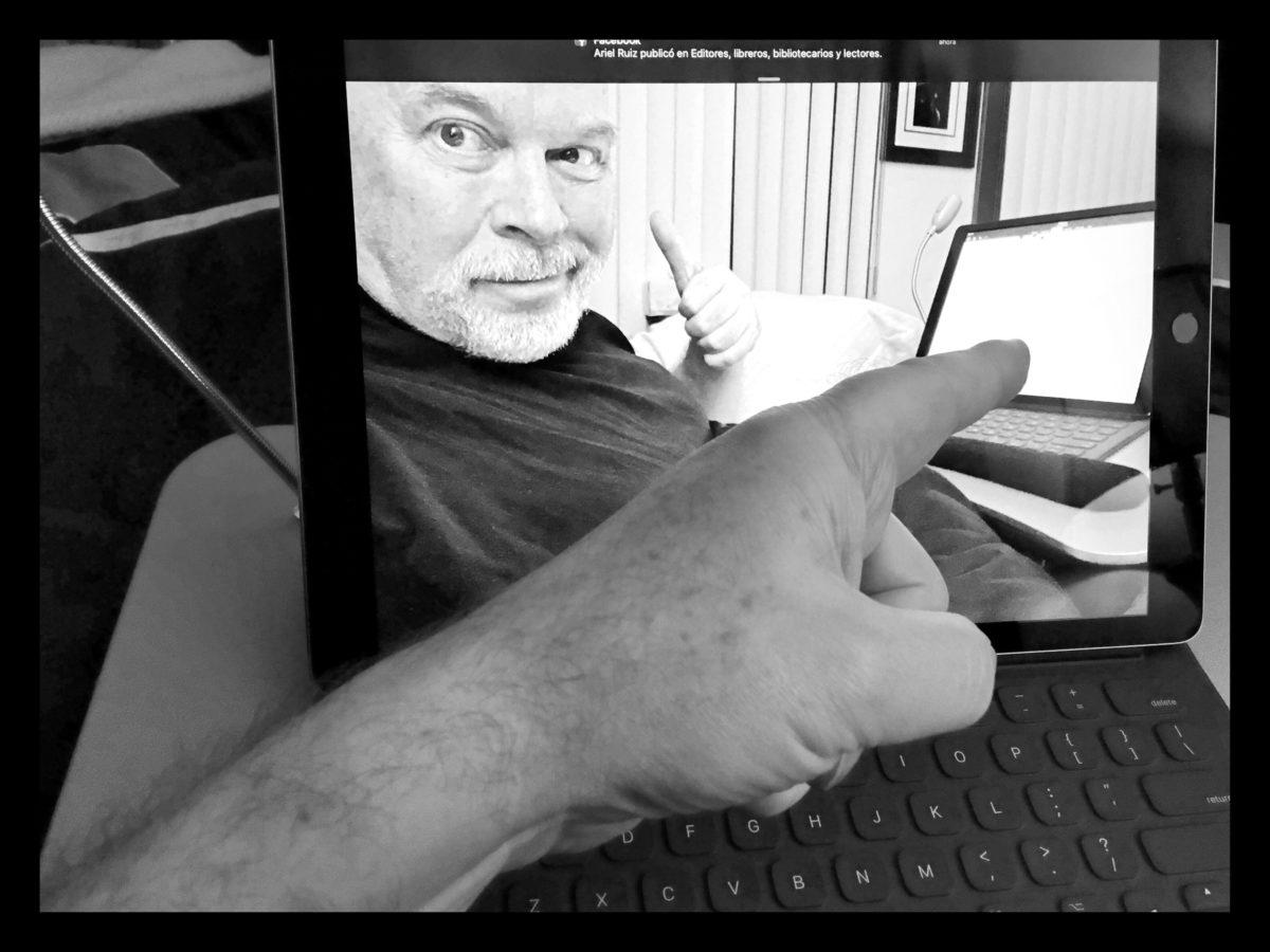 La iPad pro irrumpe en la vida de un editor