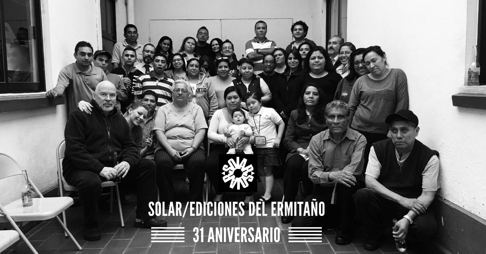 31 Aniversario de Solar y Ediciones del Ermitaño